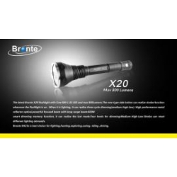 Bronte X20 800 lumens