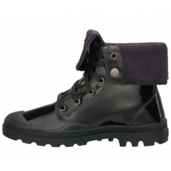 Palladium Baggy Leather Knit naiste jalats, must