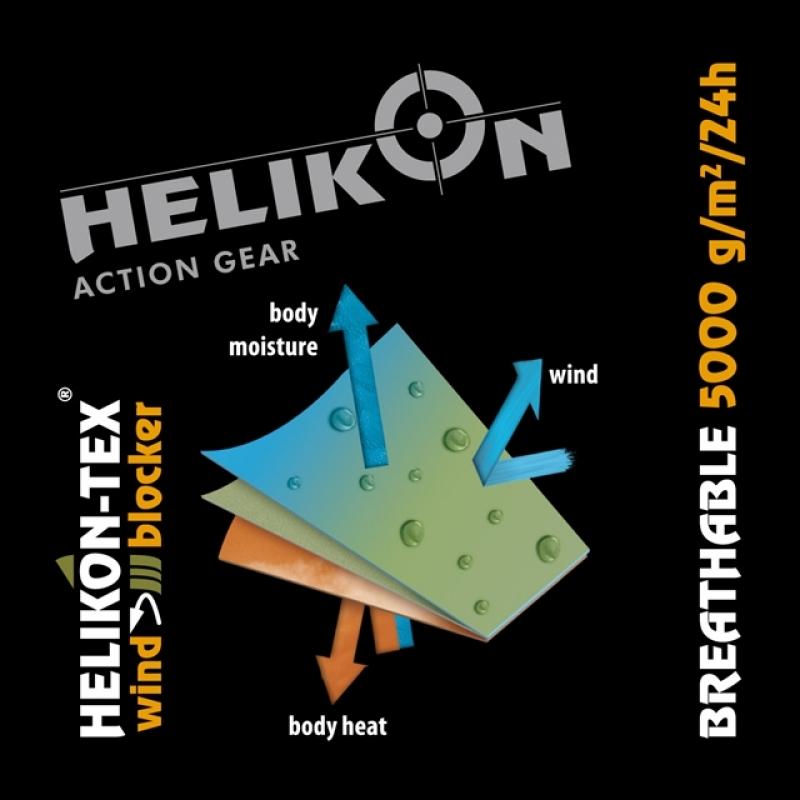 08b60a5d642 HELIKON Classic Army Wind Blocker fliis-jakk, Must-punane
