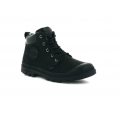 PALLADIUM Pampa lite cuff wp leather, black