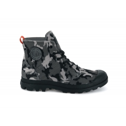 PALLADIUM Amphi c u black grey camo