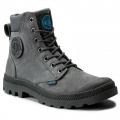 PALLADIUM Pampa cuff WP LUX iron gate UNISEX