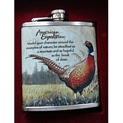 AMERICAN EXPEDITION COMMON PHEASANT PLASKU KOMPLEKT, KINKEKARBIS