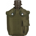Commando armee plastikplasku kotiga, oliiviroheline