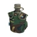 Armee plastikplasku kotiga, Woodland