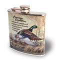 American Expedition Mallard Duck Steel 7 oz plasku