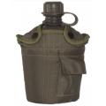 MIL-TEC plastikplasku 1L kotiga, Olive