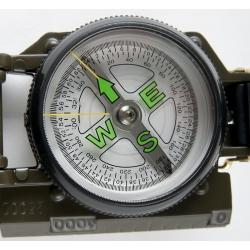 Armee kompass BUSOLA RANGER metallkorpusega, roheline