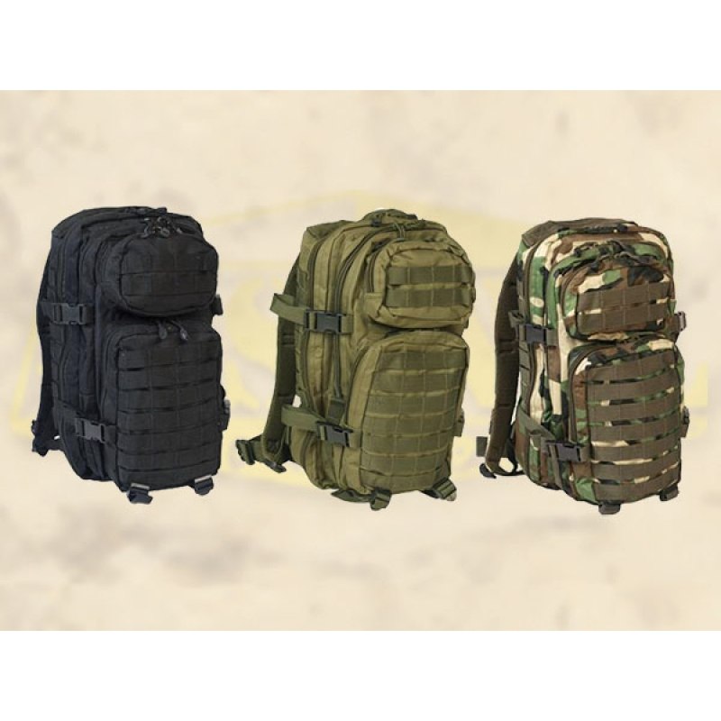 8215119ef04 MIL-TEC Assault Pack MOLLE 20L seljakott