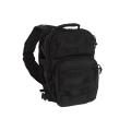 Taktikaline väike seljakott, ühe õlarihmaga, Must