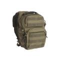 Taktikaline väike seljakott, ühe õlarihmaga, Roheline