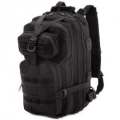 MIL-TEC üheõla Paracord kott, Must