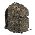 MIL-TEC US ASSAULT PACK Large 36L seljakott, Digital Woodland