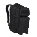 MIL-TEC US Assault Laser Cut 20L seljakott, Must