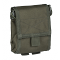 MIL-TEC EMPTY SHELL POUCH COLLAPSIBLE tühjade padrunisalvede kott. Olive