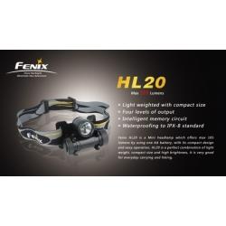 FENIX HL20 LED pealamp