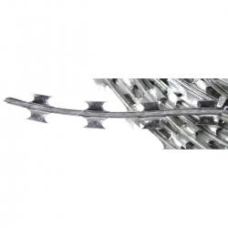 Okastraat, tsingitud metall, ca 50 m, läbimõõt 30 cm