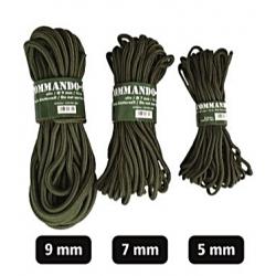 5mm (15m) Commando nöör, Olive