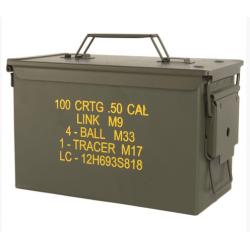 US M2A1 CAL. 50 metallist laskemoona kast (kasutatud)