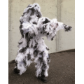 MIL-TEC GHILLIE SUIT ANTI FIRE 4PC SNOW talvine maskeerimiskomplekt