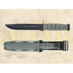 KA-BAR  Fighting/Utility taktikaline nuga, Foliage-roheline
