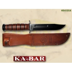 KA-BAR USMC nuga, pruun