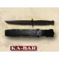 KA-BAR 5054 TANTO lühike nuga (KYDEX vutlariga)