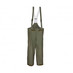 BW Vihmakindlad goretex traksidega püksid, olive