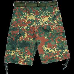 McAllister Army-Bermudas shortsid, Flecktarn