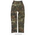 Saksa armee naiste välivormi püksid, Flecktarn, kasutatud