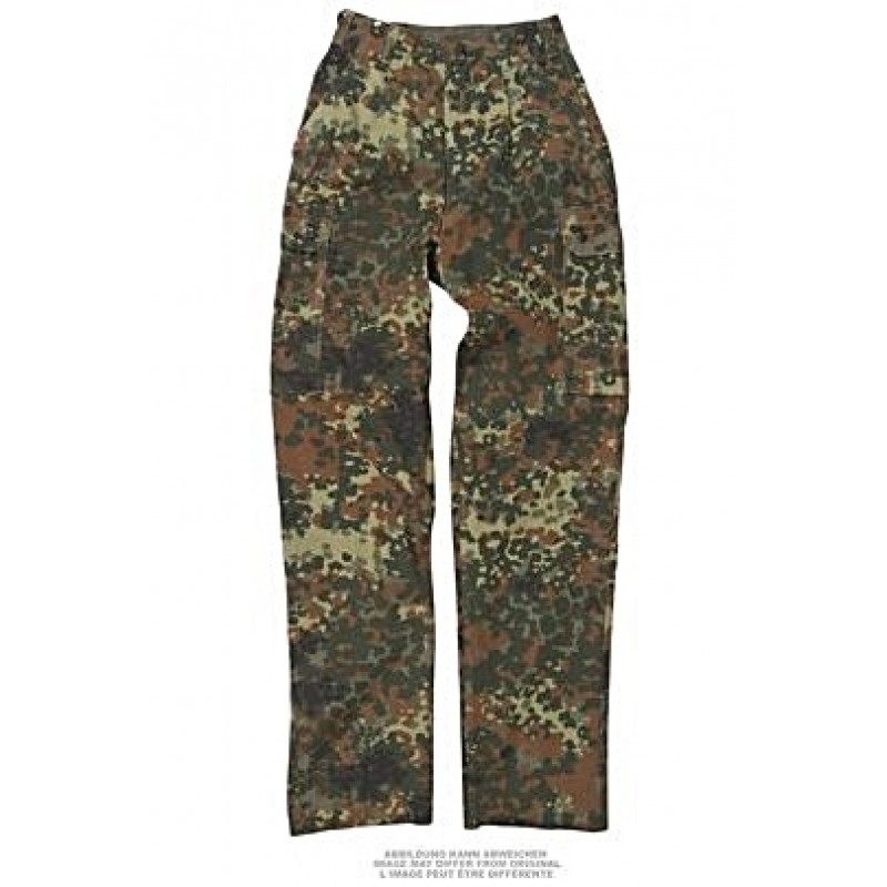 4a4d68d6384 Saksa armee naiste välivormi püksid, Flecktarn, kasutatud