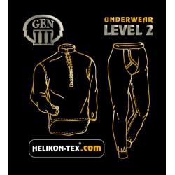 HELIKON Level 2 IIIGen soojad aluspesu püksid, Oliiviroheline