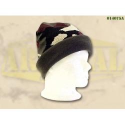 Kootud müts Acrylic, kamuflaaž