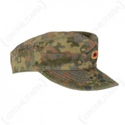 Saksa BW müts, Flecktarn, kasutatud