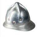 Bulgaaria alumiiniumist tuletõrjuja kiiver, kasutatud