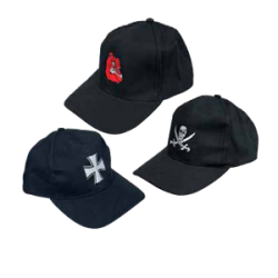 McAllister pesapallimüts, must, Jolly Roger