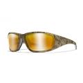 WILEYX BOSS Pol Amber Gold Mirror Kryptek® Highlander® Frame prillid