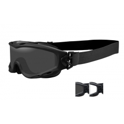 WileyX SPEAR Smoke/Clear ballistilised prillid, must