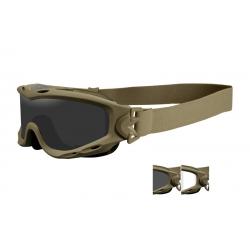 WileyX SPEAR Smoke/Clear ballistilised prillid, olive