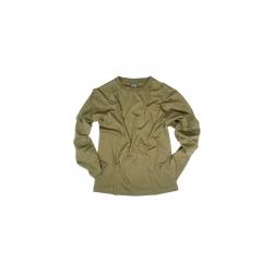 MIL-TEC pikkade varrukatega T-särk, Oliiviroheline