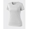 HELIKON naiste T-särk, valge ja logoga