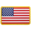 USA embleem takjakinnitusega 3D 8x5cm