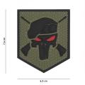 Embleem 3D PVC Commando Punisher