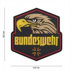 Embleem 3D PVC Bundeswehr kollane