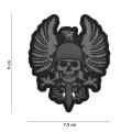 Embleem 3D PVC Spanish skull
