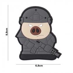 Embleem 3D PVC Tactical pig