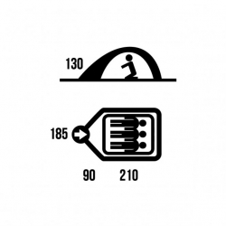 HUSKY Bird 3 (Classic) telk, roheline