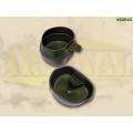 Rootsi kokkupandav kummikruus FOLDaCUP® 200 ml, Oliiviroheline