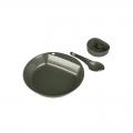 WILDO 3 osaline plastikust  pathfinder nõudekomplekt, olive