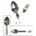 MIL-TEC kompaktne lusikas-kahvel, roostevaba teras (MILTEC®GÖFFEL)